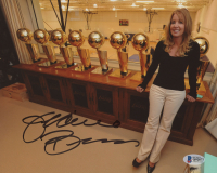 Jeanie Buss Signed Los Angeles Lakers 8x10 Photo (Beckett COA) at PristineAuction.com