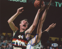 Dan Issel Signed Denver Nuggets 8x10 Photo (Beckett COA) at PristineAuction.com
