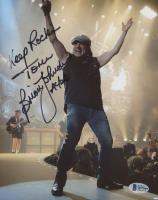 "Brian Johnson Signed 8x10 Photo Inscribed ""Keep Rockin"" & ""AC/DC"" (Beckett COA) at PristineAuction.com"