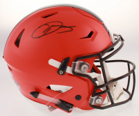 Odell Beckham Jr. Signed Cleveland Browns Full-Size Authentic On-Field SpeedFlex Helmet (JSA COA) at PristineAuction.com
