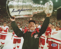 Scotty Bowman Signed Detroit Red Wings 8x10 Photo (Beckett COA) at PristineAuction.com