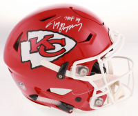 "Tony Gonzalez Signed Kansas City Chiefs Full-Size Authentic On-Field SpeedFlex Helmet Inscribed ""HOF 19"" (Beckett COA) at PristineAuction.com"