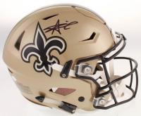 Alvin Kamara Signed New Orleans Saints Full-Size Authentic On-Field SpeedFlex Helmet (JSA COA) at PristineAuction.com