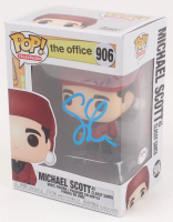 "Steve Carell Signed ""The Office"" Michael Scott #906 Funko Pop Vinyl Figure (PSA COA) at PristineAuction.com"