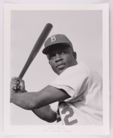 "Historical Photo Archive - ""Jackie Robinson"" Limited Edition 16.5x22 Fine Art Giclee on Paper #/375 (PA LOA) at PristineAuction.com"