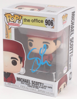 "Steve Carell Signed ""The Office"" Michael Scott as Classy Santa #906 Funko Pop Vinyl Figure (PSA COA) at PristineAuction.com"