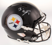 Ben Roethlisberger Signed Pittsburgh Steelers Full-Size Authentic On-Field Speed Helmet (Beckett COA & Fanatics Hologram) at PristineAuction.com