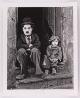 "Historical Photo Archive - Charlie Chaplin ""The Kid"" Limited Edition 16.5x22 Fine Art Giclee on Paper #/375 (PA LOA) at PristineAuction.com"