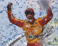 Joey Logano Signed NASCAR 8x10 Photo (Beckett COA) at PristineAuction.com