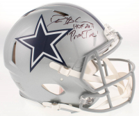 "Deion Sanders Signed Dallas Cowboys Full-Size Authentic On-Field Speed Helmet Inscribed ""HOF 2011"" & ""PrimeTime"" (Beckett COA) at PristineAuction.com"