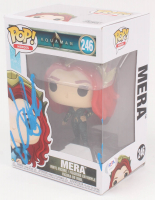 "Amber Heard Signed ""Aquaman"" Mera #246 Funko Pop Vinyl Figure (PSA COA) at PristineAuction.com"