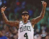 Isaiah Thomas Signed Boston Celtics 8x10 Photo (Beckett COA) at PristineAuction.com