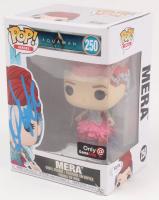 "Amber Heard Signed ""Aquaman"" Mera #250 Funko Pop Vinyl Figure (PSA COA) at PristineAuction.com"
