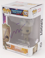 "Vin Diesel Signed ""Guardians of the Galaxy"" Groot #202 Funko Pop Vinyl Figure (PSA COA) at PristineAuction.com"