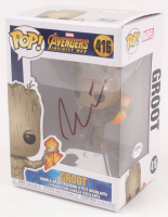 "Vin Diesel Signed ""Guardians of the Galaxy"" Groot #416 Funko Pop Vinyl Figure (PSA COA) at PristineAuction.com"