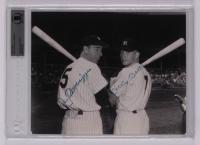 Joe DiMaggio & Mickey Mantle Signed New York Yankees 8x10 Photo (BGS Encapsulated) at PristineAuction.com