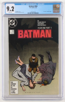 "1987 ""Batman"" Issue #404 D.C. Comic Book (CGC 9.2) at PristineAuction.com"