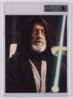 "Alec Guinness Signed ""Star Wars: Episode IV – A New Hope"" 8x10 Photo (BGS Encapsulated) at PristineAuction.com"