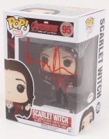 "Elizabeth Olsen Signed ""Avengers: Age of Ultron"" Scarlet Witch #95 Funko Pop Vinyl Figure (PSA COA) at PristineAuction.com"