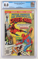 "1976 ""Peter Parker, The Spectacular Spiderman"" Issue #1 Marvel Comic Book (CGC 8.0) at PristineAuction.com"