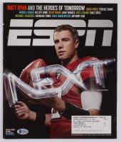 Matt Ryan Signed 2008 ESPN Magazine Cover (Beckett COA) at PristineAuction.com