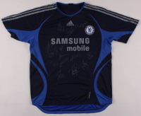 2006-07 Chelsea F.C. Jersey Team-Signed by (14) with Petr Cech, Frank Lampard, Michael Ballack, John Terry, Arjen Robben, Wayne Bridge, Michael Essien (Beckett LOA) at PristineAuction.com