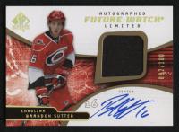 2008-09 SP Authentic Limited Autographed Patches #195 Brandon Sutter at PristineAuction.com