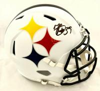 Minkah Fitzpatrick Signed Pittsburgh Steelers AMP Alternate Full-Size Speed Helmet (Beckett COA) at PristineAuction.com