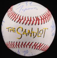 """The Sandlot"" Logo Baseball Cast-Signed By (6) with Tom Guiry, Chauncey Leopardi, Shane Obedzinski, Marty York, Brandon Adams, & Victor Di Mattia with Multiple Inscriptions (JSA COA) at PristineAuction.com"