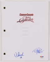 """Cheech Marin & Tommy Chong Signed """"Cheech & Chong's Up in Smoke"""" Movie Script Inscribed """"19"""" (PSA COA) at PristineAuction.com"""