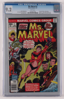 "1977 ""Ms. Marvel"" Issue #1 Marvel Comic Book (CGC 9.2) at PristineAuction.com"