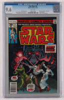 "1977 ""Star Wars"" Issue #4 Marvel Comic Book (CGC 9.6) at PristineAuction.com"
