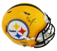 Ben Roethlisberger Signed Pittsburgh Steelers Full-Size Authentic On-Field Speed Helmet (Beckett COA) at PristineAuction.com