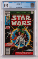 """1977 """"Star Wars"""" Issue #1 Marvel Comic Book (CGC 8.0) at PristineAuction.com"""