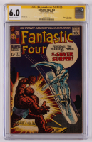 "Joe Sinnott Signed 1966 ""Fantastic Four"" Issue #55 Marvel Comic Book (CGC 6.0) at PristineAuction.com"
