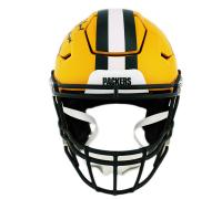 """Brett Favre Signed Packers Full-Size Authentic On-Field SpeedFlex Helmet Inscribed """"Gunslinger"""" (Radtke COA) at PristineAuction.com"""