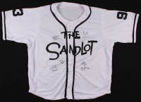 Jersey Cast-Signed by (6) with Tom Guiry, Chauncey Leopardi, Marty York, Victor Di Mattia with Inscriptions (JSA COA) at PristineAuction.com