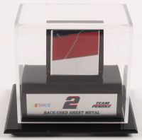 Brad Keselowski NASCAR Race-Used Sheet Metal Display (Fanatics) at PristineAuction.com