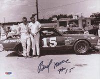 Bud Moore Signed NASCAR 8x10 Photo (PSA COA) at PristineAuction.com