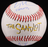 """The Sandlot"" Logo Baseball Cast-Signed By (6) with Tom Guiry, Chauncey Leopardi, Shane Obedzinski, Marty York, Brandon Adams, & Victor Di Mattia with Multiple Inscriptions (JSA COA) at PristineAuction.com"