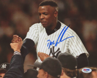 "Dwight ""Doc"" Gooden Signed New York Yankees 8x10 Photo (PSA COA) at PristineAuction.com"