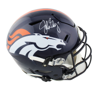 John Elway Signed Denver Broncos Full-Size Authentic On-Field SpeedFlex Helmet (Radtke COA) at PristineAuction.com