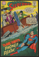 "1968 ""Superman"" Issue #210 DC Comic Book at PristineAuction.com"