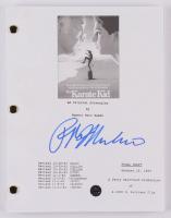 "Ralph Macchio Signed ""The Karate Kid"" Movie Script (Legends COA) at PristineAuction.com"