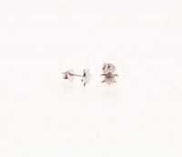 Sterling Silver Turtle Stud Earrings at PristineAuction.com