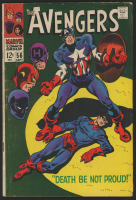 "1968 ""The Avengers"" Issue #56 Marvel Comic Book at PristineAuction.com"