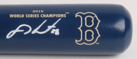 J. D. Martinez Signed LE Louisville Slugger Boston Red Sox 2018 World Series Champions Baseball Bat (Steiner Hologram) at PristineAuction.com