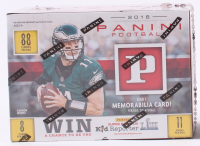 2018 Panini Prestige Football Unopened Box with (88) Cards at PristineAuction.com