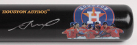 Jose Altuve Signed LE Houston Astros World Series Champions 2017 Baseball Bat (Beckett Hologram) at PristineAuction.com