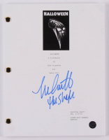 "Nick Castle Signed ""Halloween"" Movie Script Inscribed ""The Shape"" (Legends COA) at PristineAuction.com"